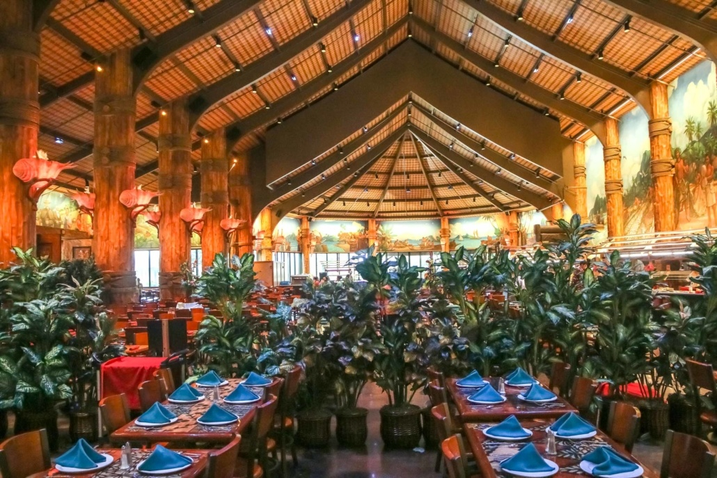 Polynesian Cultural Center Buffet Dining Hall Oahu