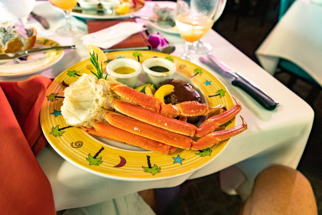 Star Of Honolulu Boat Food Crab Plate Oahu