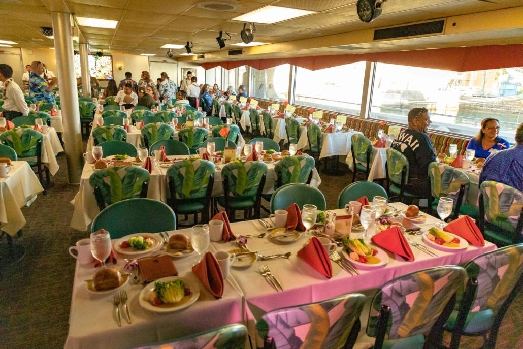 Star Of Honolulu Boat Interior Seating Oahu