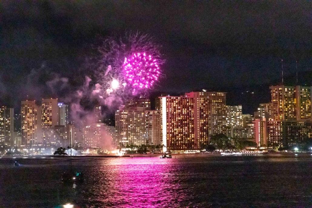 Star Of Honolulu Fireworks Boat Oahu