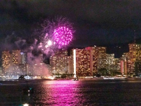 Star Of Honolulu Fireworks Boat Oahu