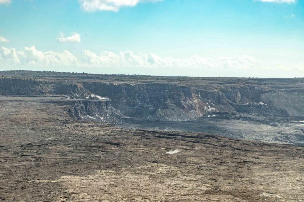 Volcano National Park Kilauea Crater Walls and Steam Big Island