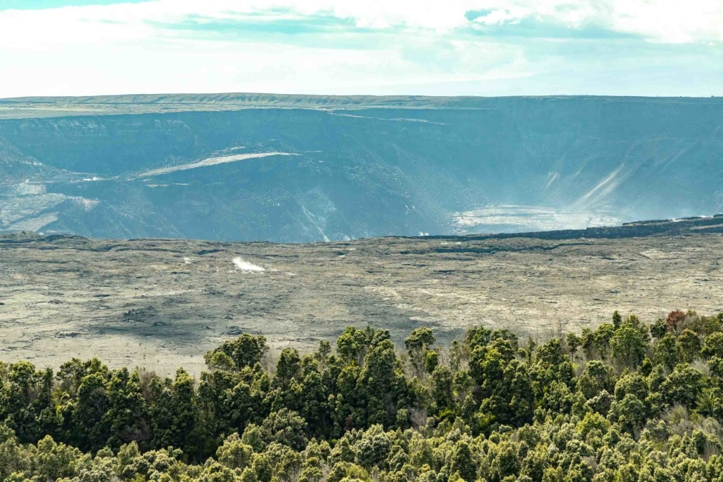 Volcano National Park Kilauea Crater and Forest Big Island
