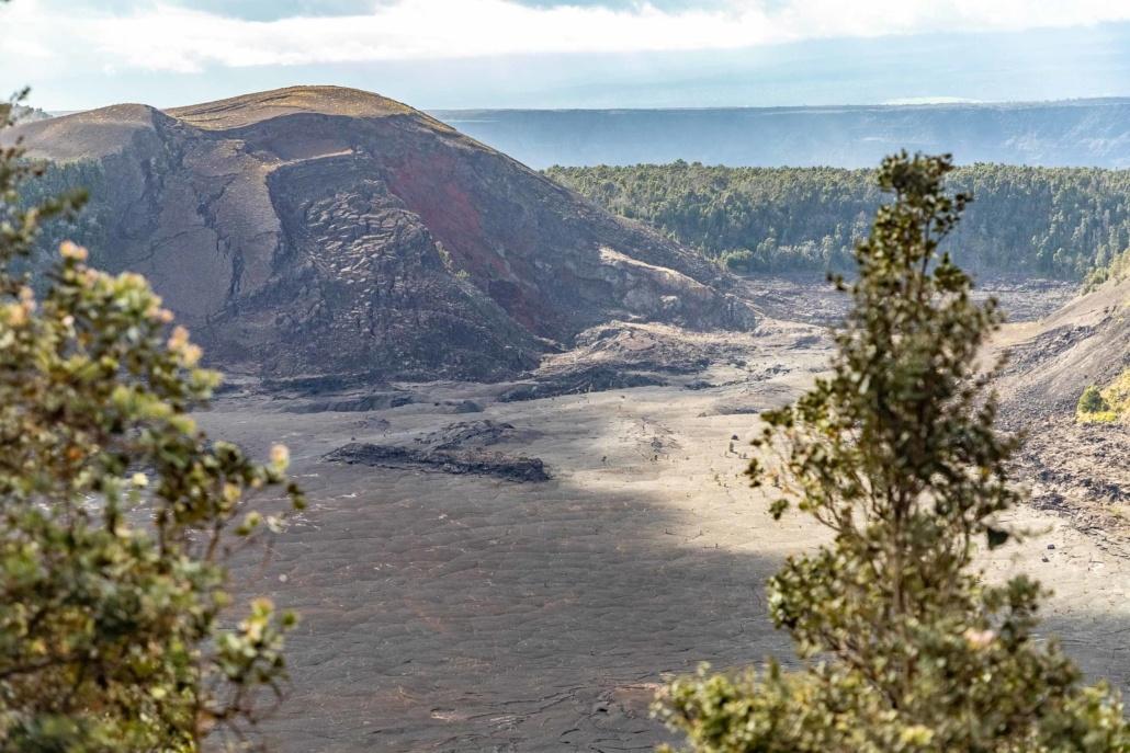 Volcano National Park Kilauea Iki Overlook Big Island