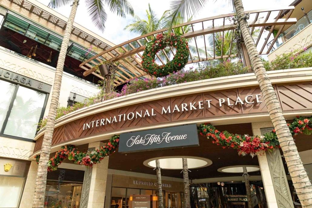Waikiki International Market Place Honolulu Oahu