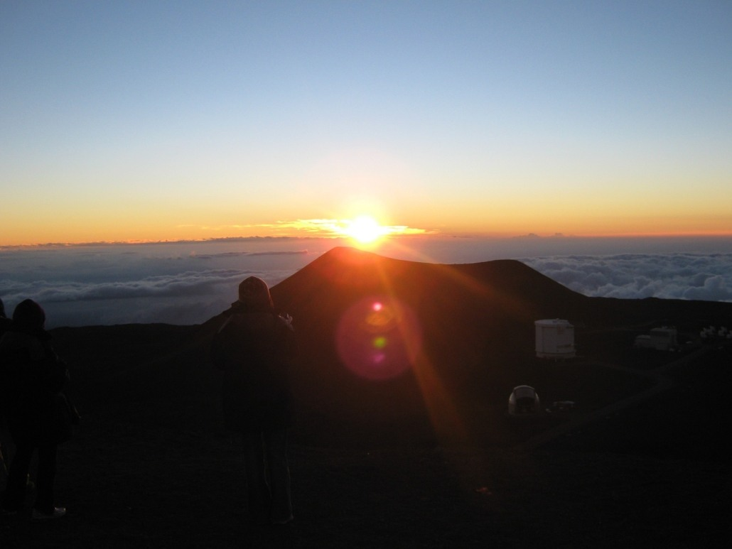 Sunset View On Mauna Kea