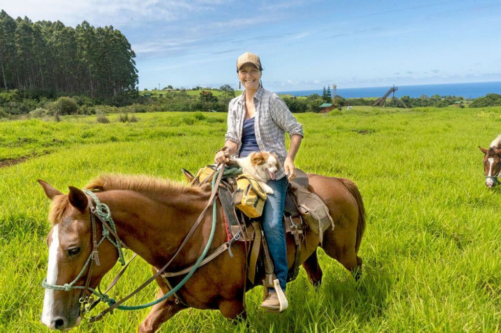Wailea Horseback Adventure Lady