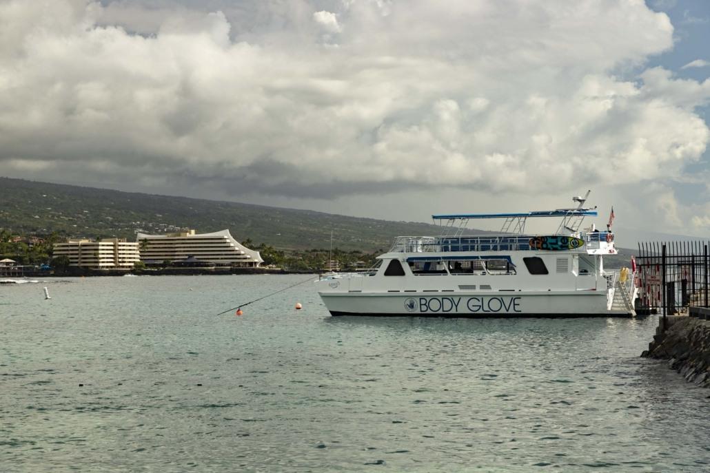 Body Glove Boat Kona Pier Big Island