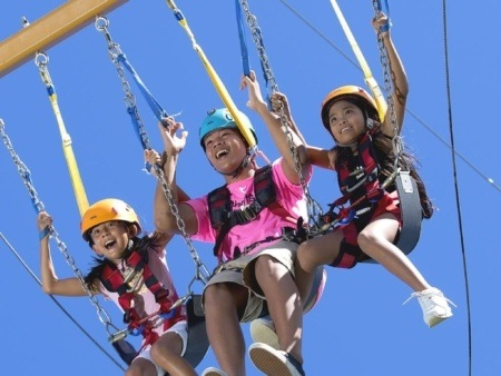 Feel The Excitement of the Umauma Giant Swing Big Island