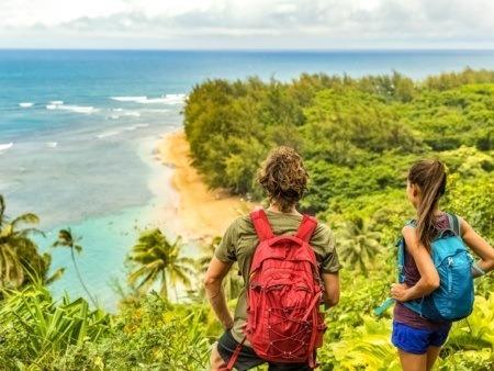 Kalalau Trail Hiking Visitors