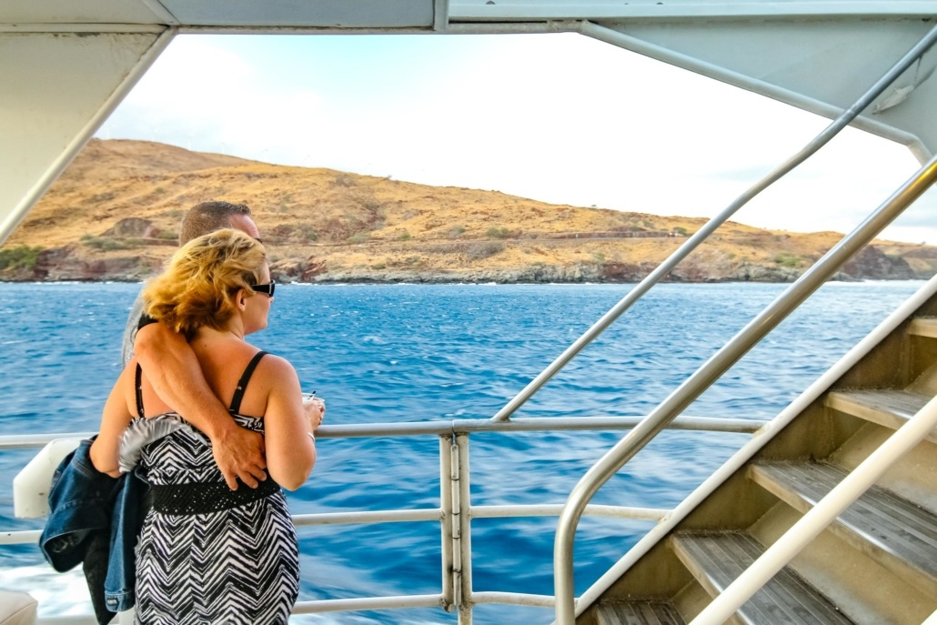 Maui Boat Guests Lower Deck