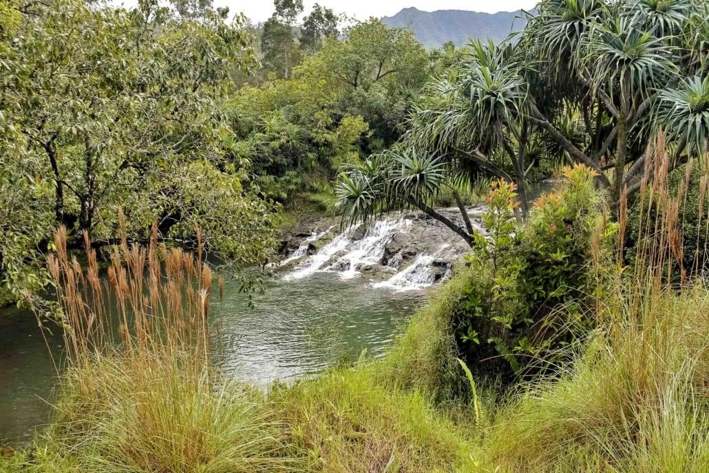 Silver Falls Ranch Waterfall Pool Horseback Kauai