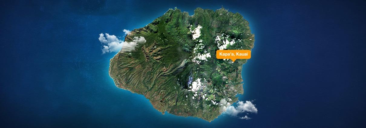 Kapaa Kauai Map