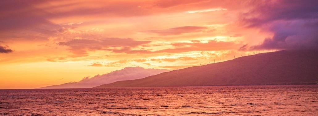 Trilogy Maui Sunset