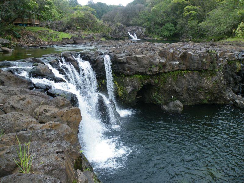 Waterfalls At Umauma River