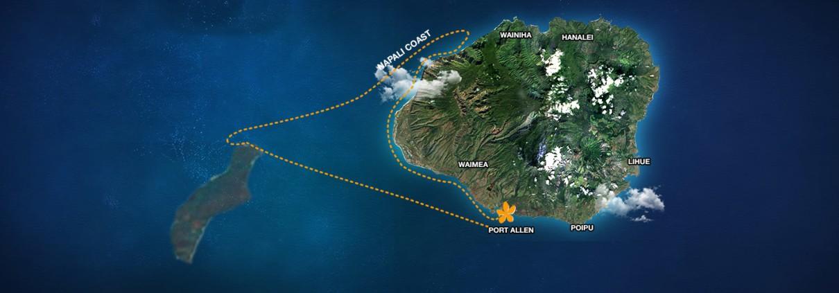 Niihau and Napali Coast Snorkeling Trip