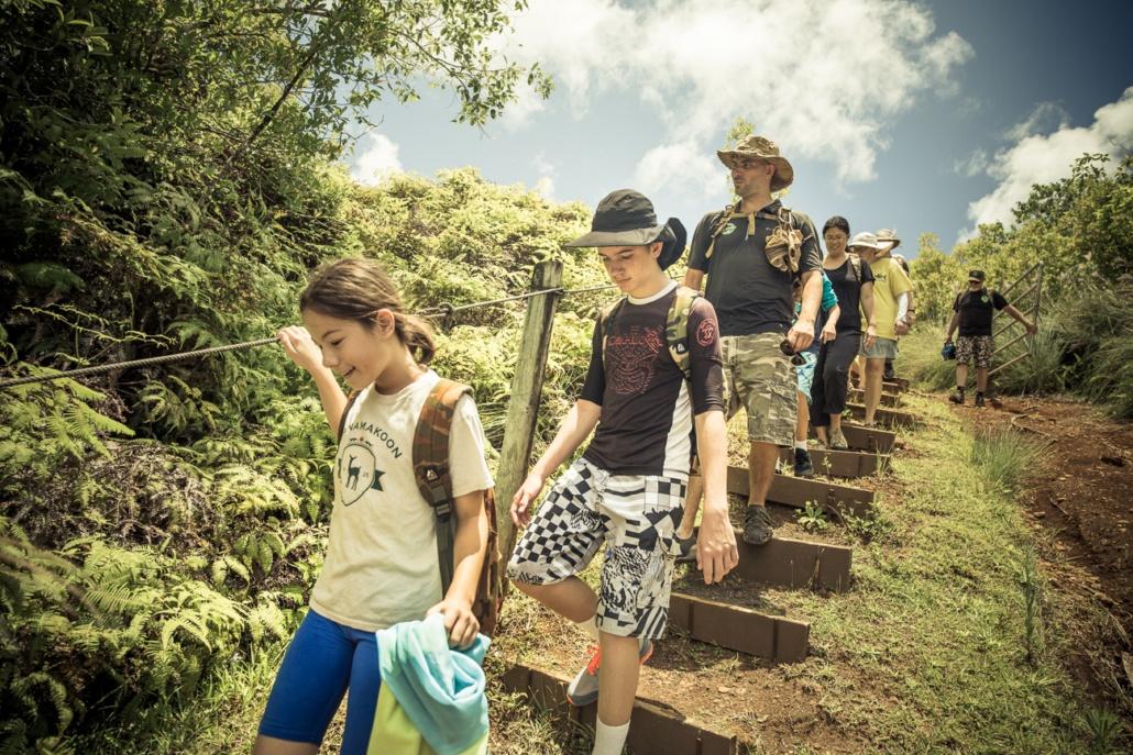Hiking Princeville Ranch Kauai