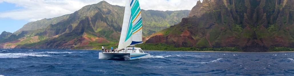 Holo Holo Charters Kauai Napali Sunset Sail Header