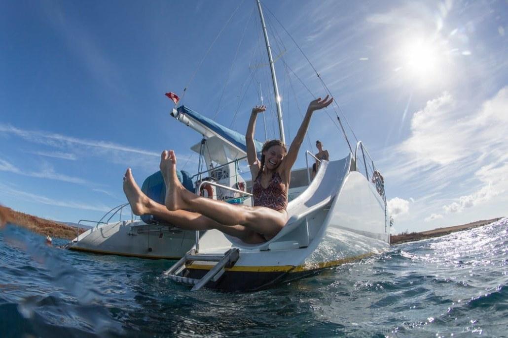 Holo Holo Charters Kauai Sailing Snorkel