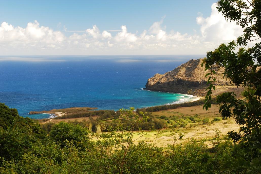 Overlooking Landlocked Kipu Kai Beach Kipu Tours Kauai