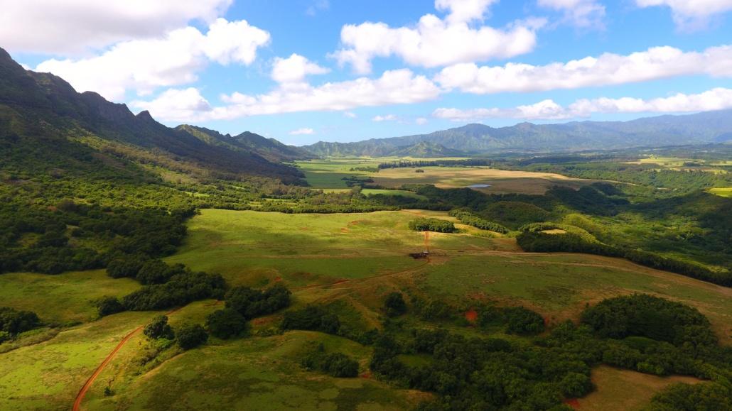 The Views of Kipu Kai From The Top of Mt.Haupu Kipu Tours Kauai