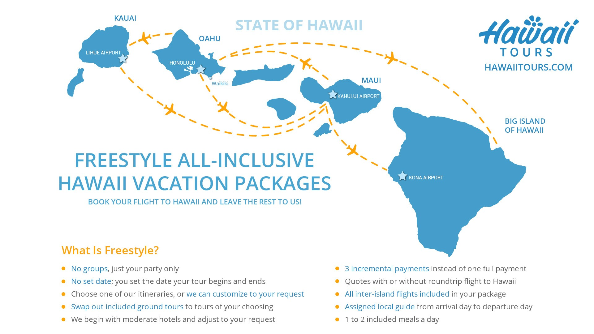 FREESTYLE ALL INCLUSIVE-HAWAII-VACATION PACKAGEs