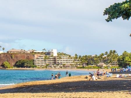 Kaanpali Maui Beach