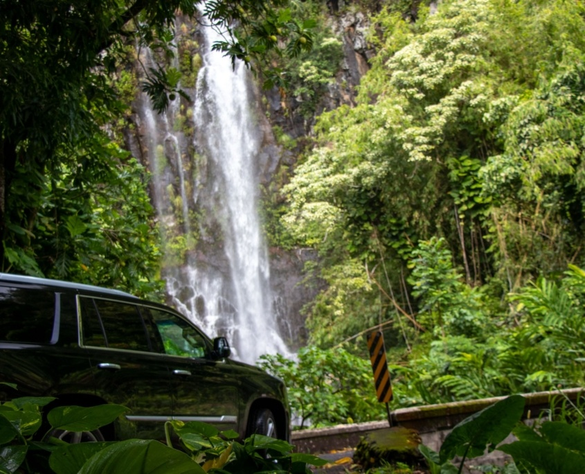 Cadillac South Wailua Falls