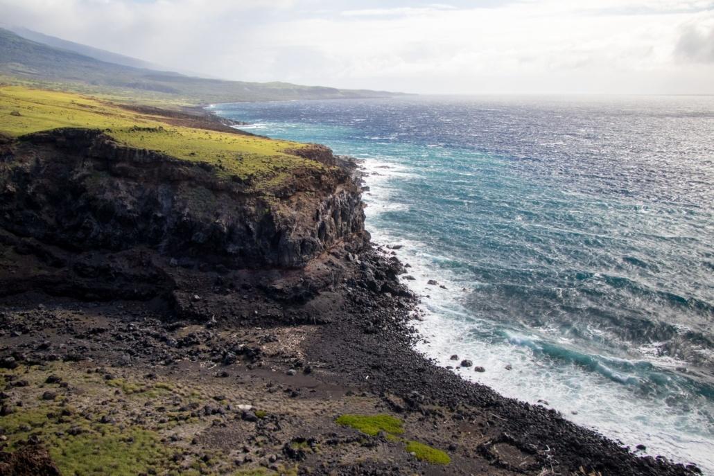 Manawainui Gulch Ocean