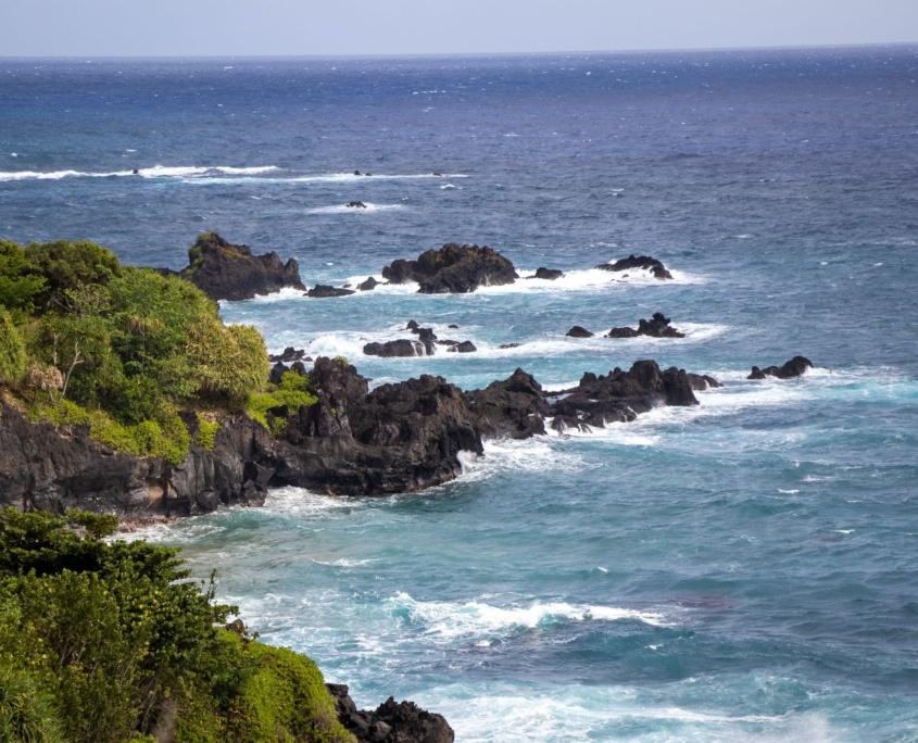 Maui Coastal Rocks Kipahulu