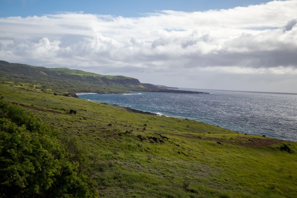 Maui Nuu Backside Coastline