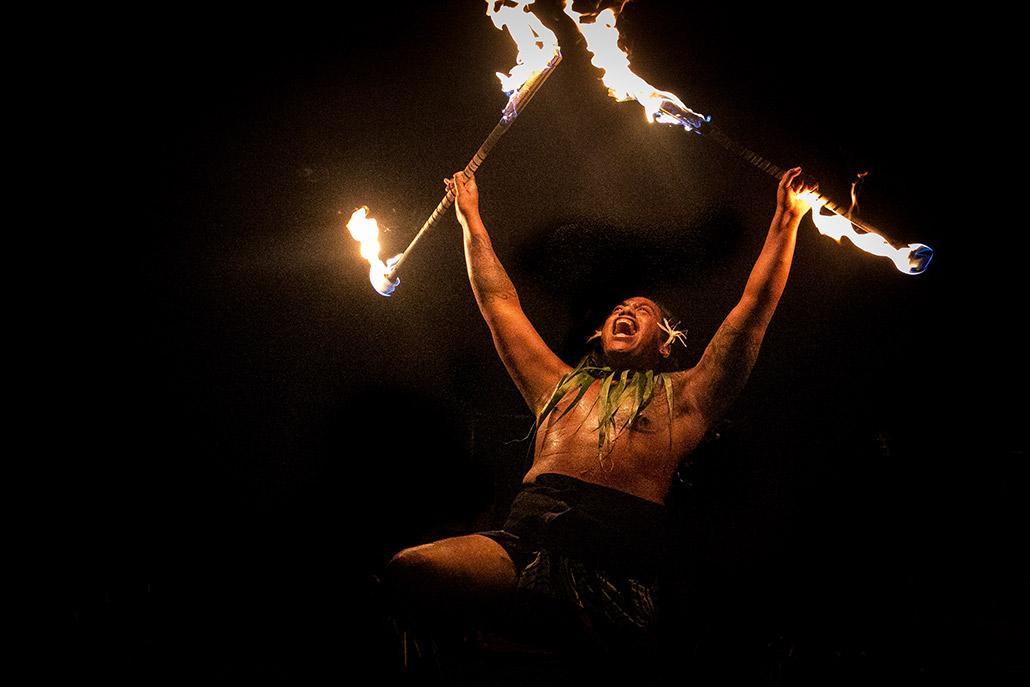 Image Andaz Maui Fire Dancer