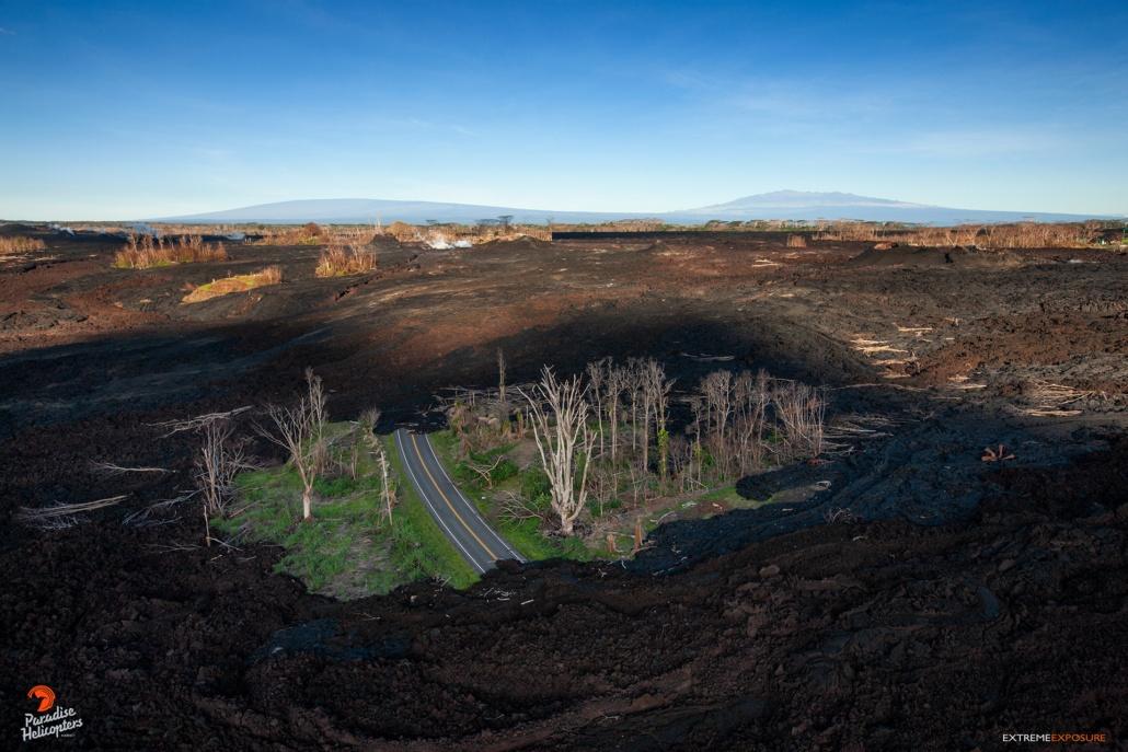 Fly Over Big Island Volcanoes