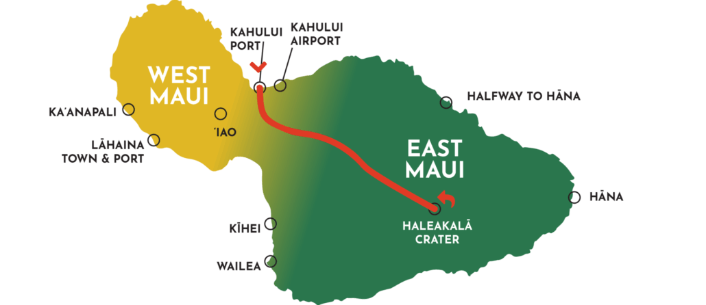 private haleakala hike map