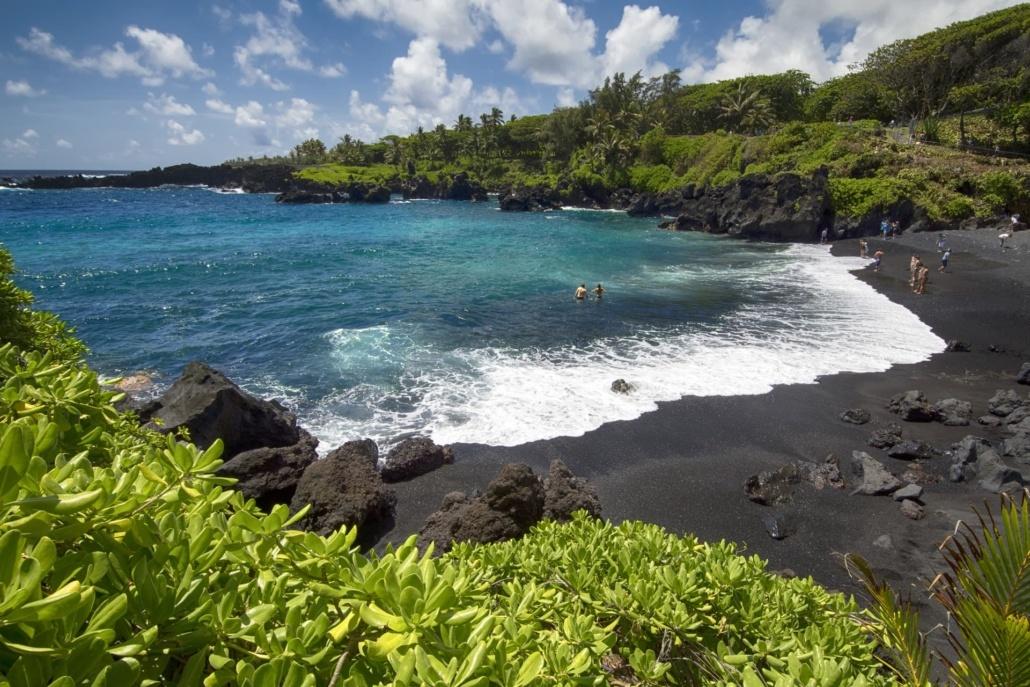 Waianapanapa State Park Maui