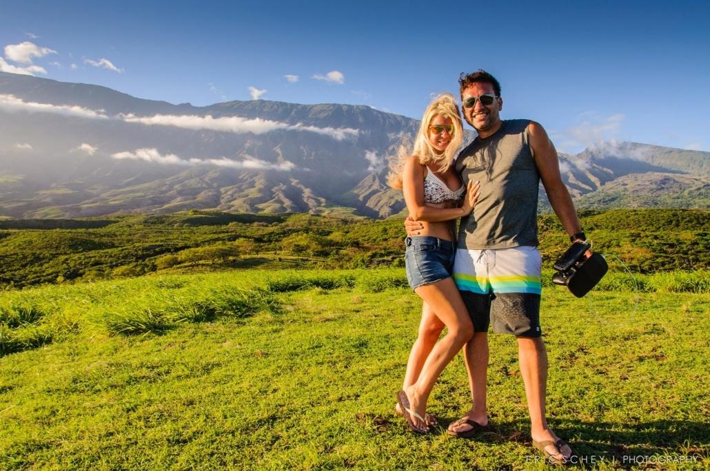 Couple at Prvaite Bamboo Trek Hana Tour