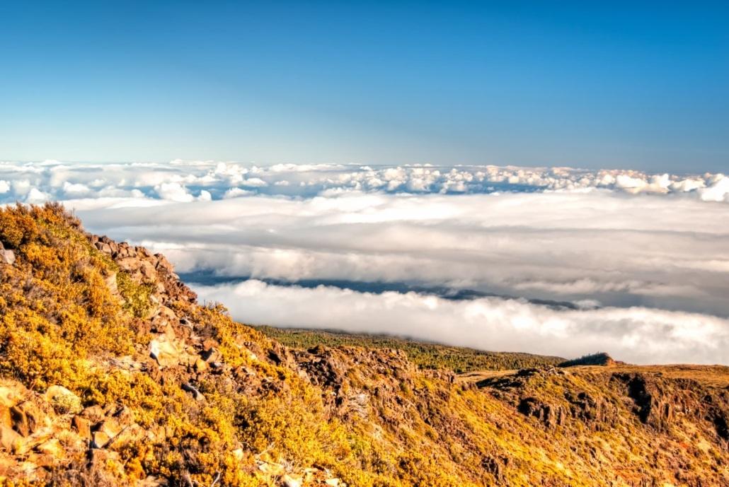 Haleakala Summit Hike Clouds