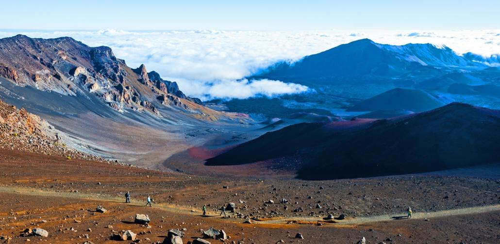 Haleakala Hiking Sightseeing