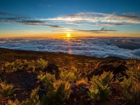 Holo Holo Maui Sunset Haleakala