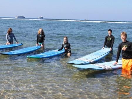 Lahaina Group Surf Lesson