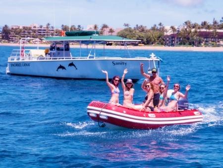 sanity dingy half day lanai snorkeling tours