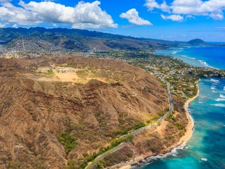 diamond head crater guided hiking tour
