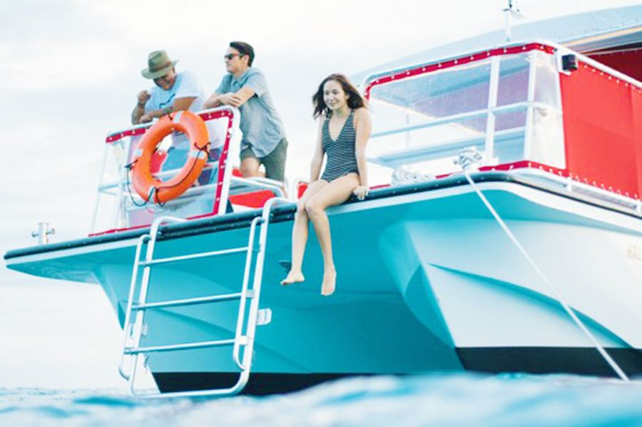 Hawaii Glass Bottom Boats Honolulu Morning Wildlife Cruise Pic