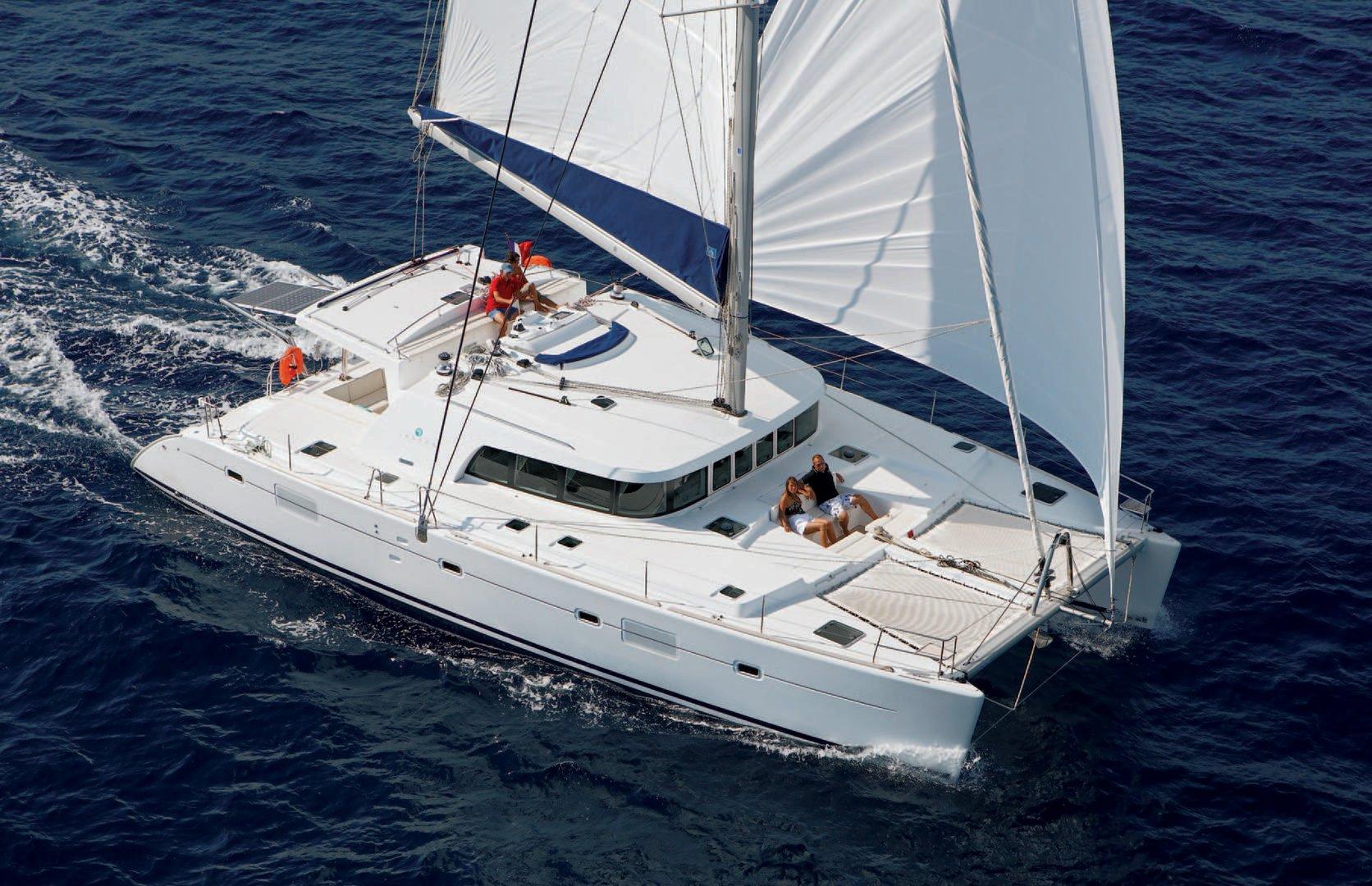 Hawaii Nautical Luxury Cataman Yacht Snorkel Sail