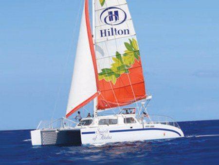 hawaii nautical waikaloa sunset sail header