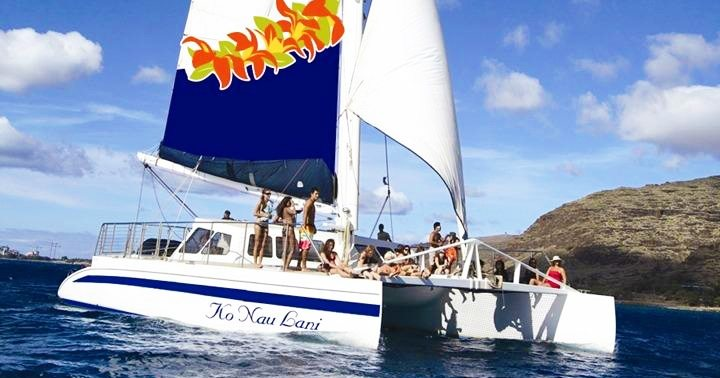 Hawaii Nautical West Dolphin Watch and Snorkel Sail