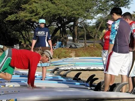 kalama park surfing lessons maui eco tours pic