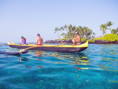 Kona Boys Morning Magic Kealakekua Bay Kayak Snorkel