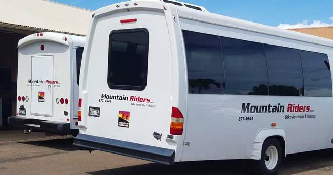 Mountain Riders Guide Bus Sunrise Tour