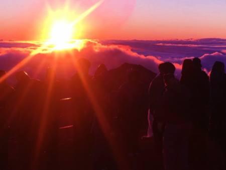 Mountain Riders Maui Sunrise Volcano Bike Tour Header